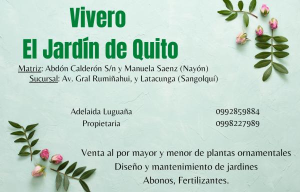 Vivero El Jardín de Quito