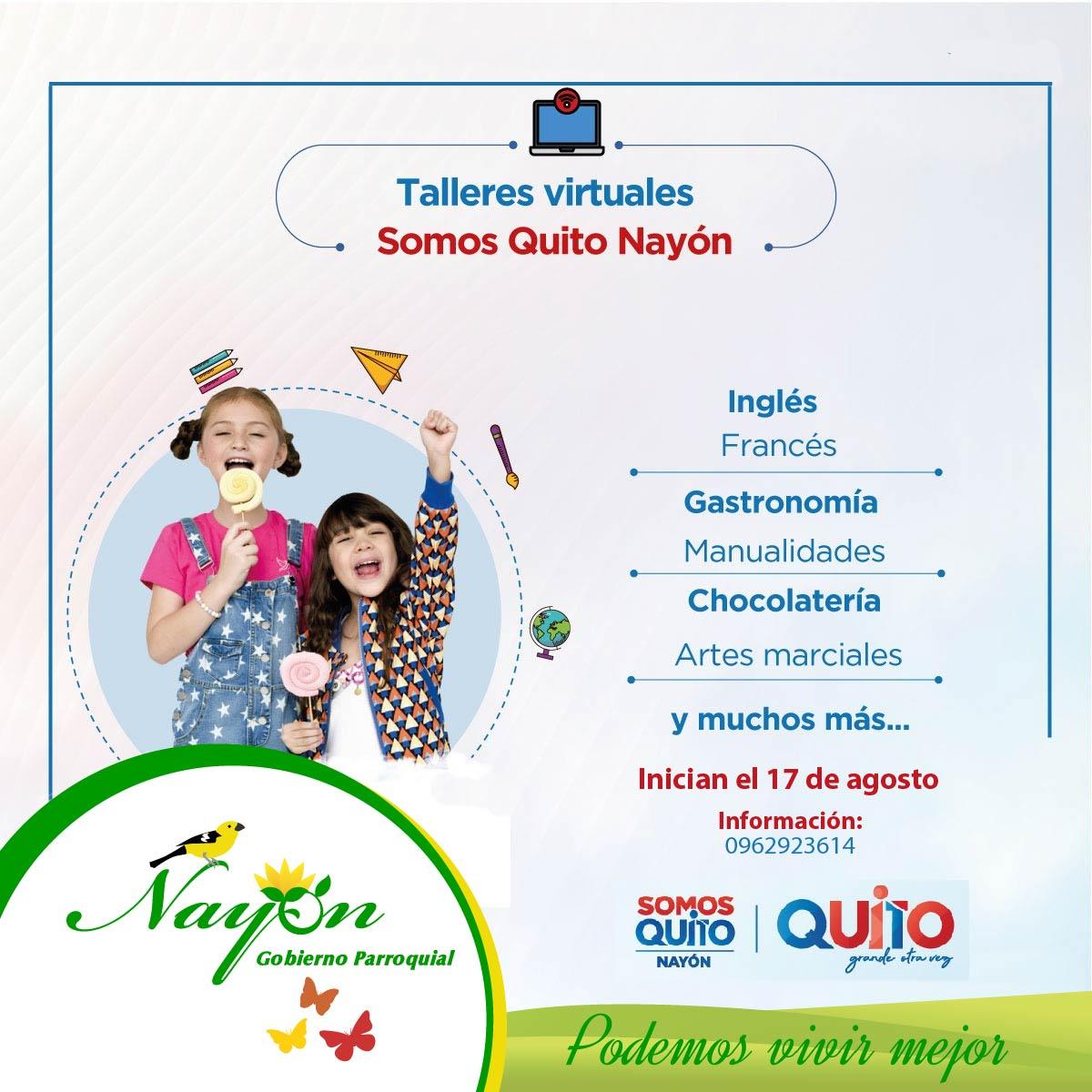 Talleres Virtuales, Somos Quito Nayón