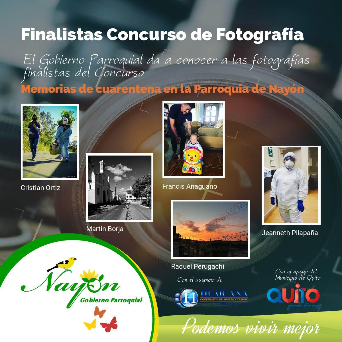 Finalistas Concurso fotografía