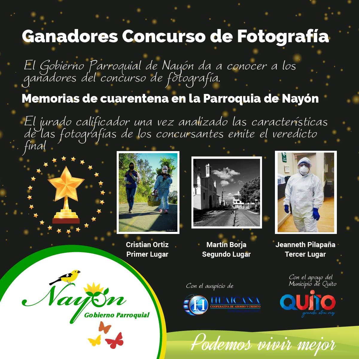 Gnadores Concurso de Fotografía