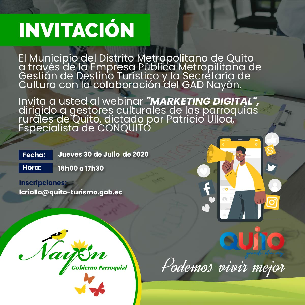 Webinar Marketing Digital