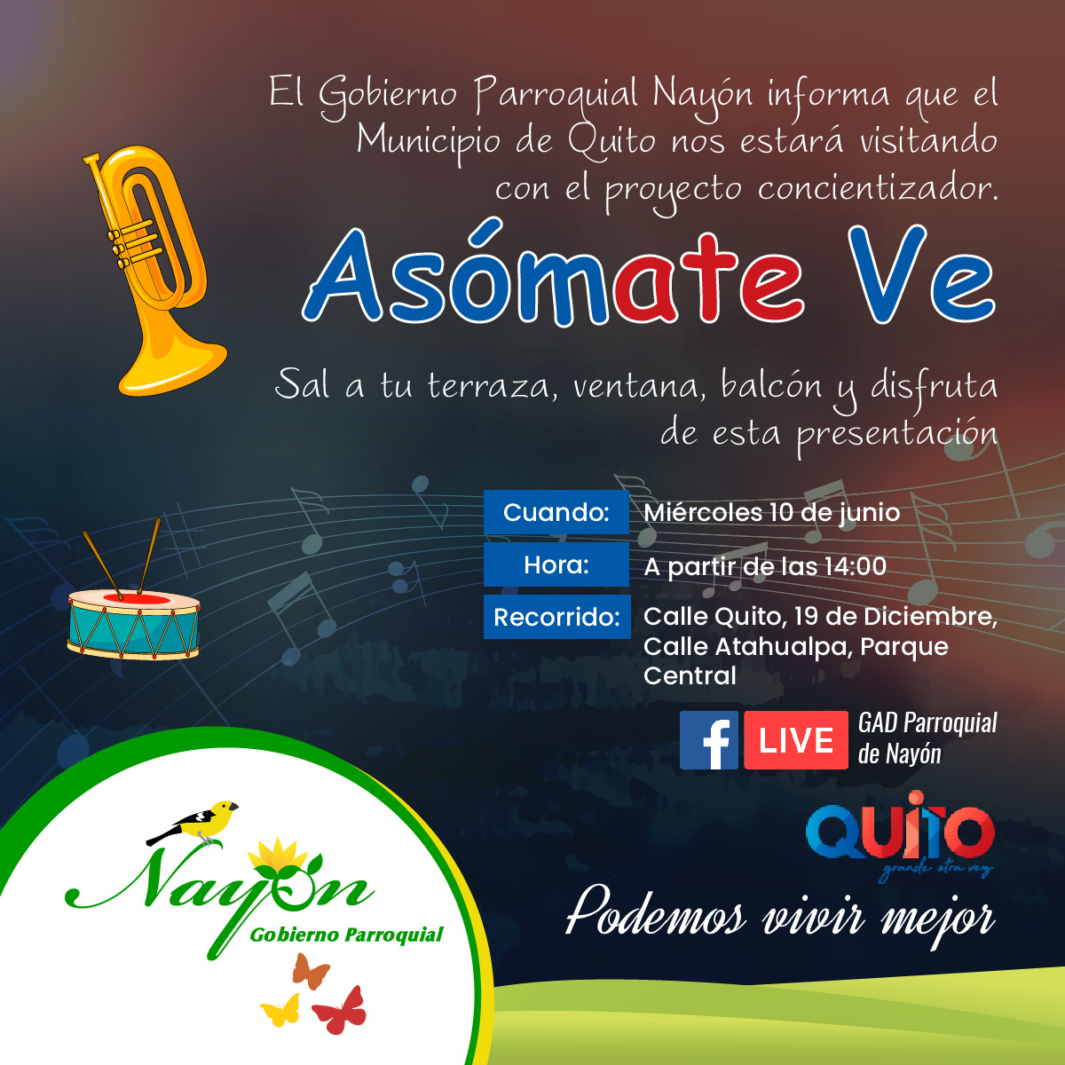 Proyecto Asómate Ve