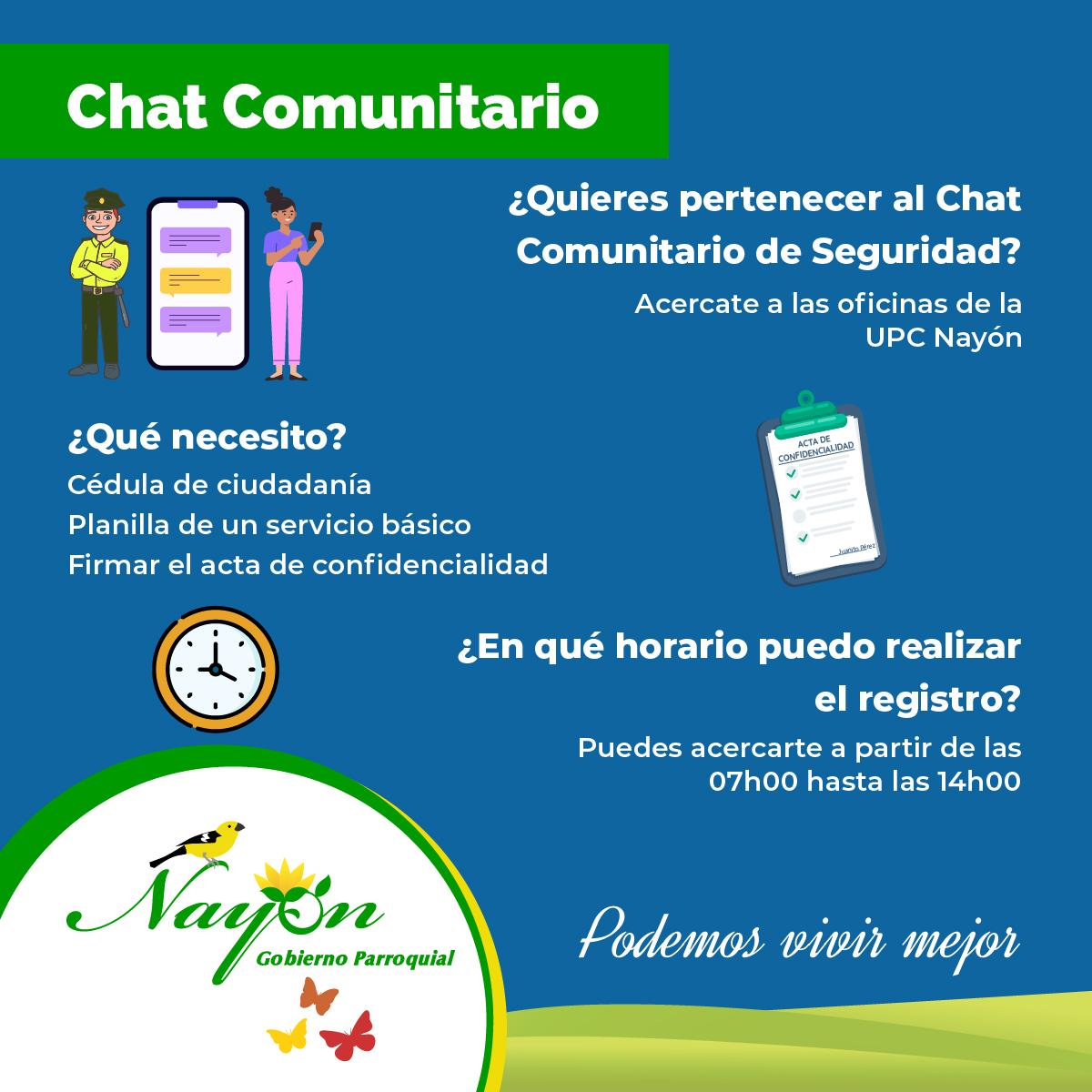 Chat Comunitario Nayón