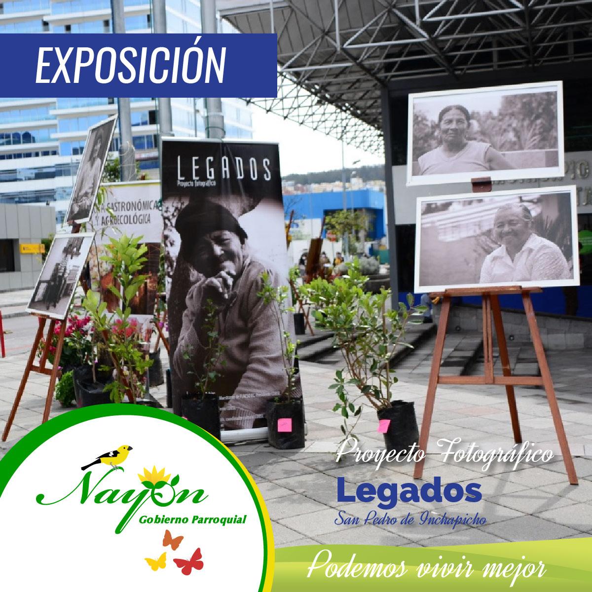 Exposición Forográfica Legados