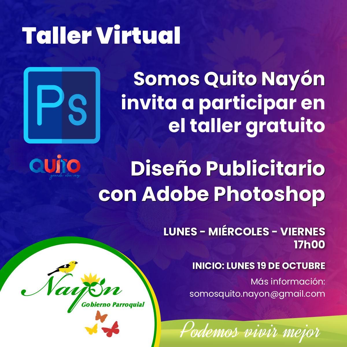 Taller Virtual Diseño Publicitario con Adobe Photoshop