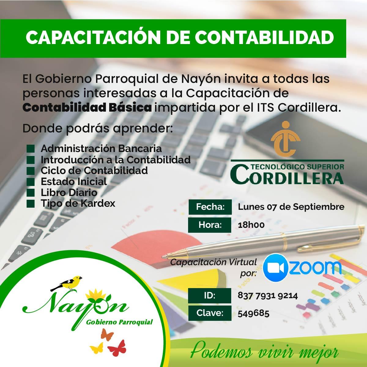 Capacitación de Contabilidad Básica - Gad Nayón