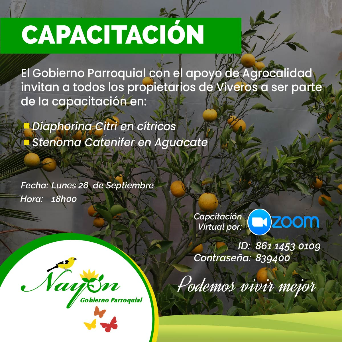 Capacitación Agrocalidad