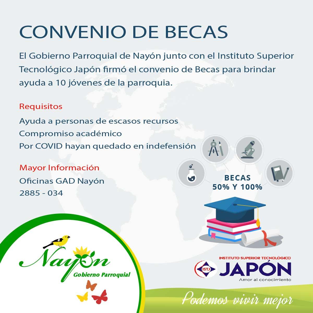 Convenio de Becas - ITS Japón