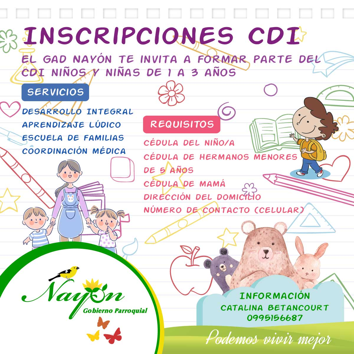 Inscripciones Abierta CDI