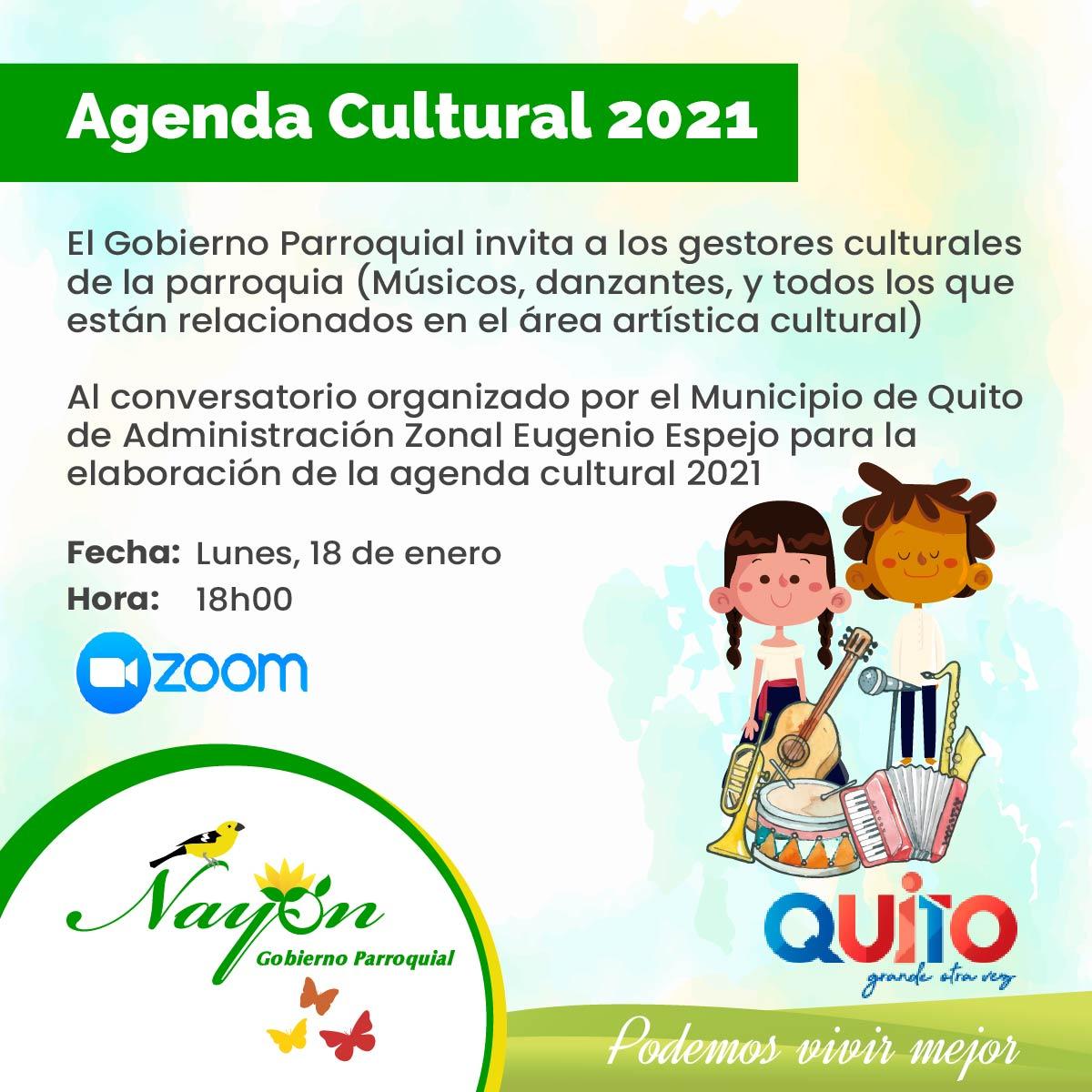 Agenda Culural 2021