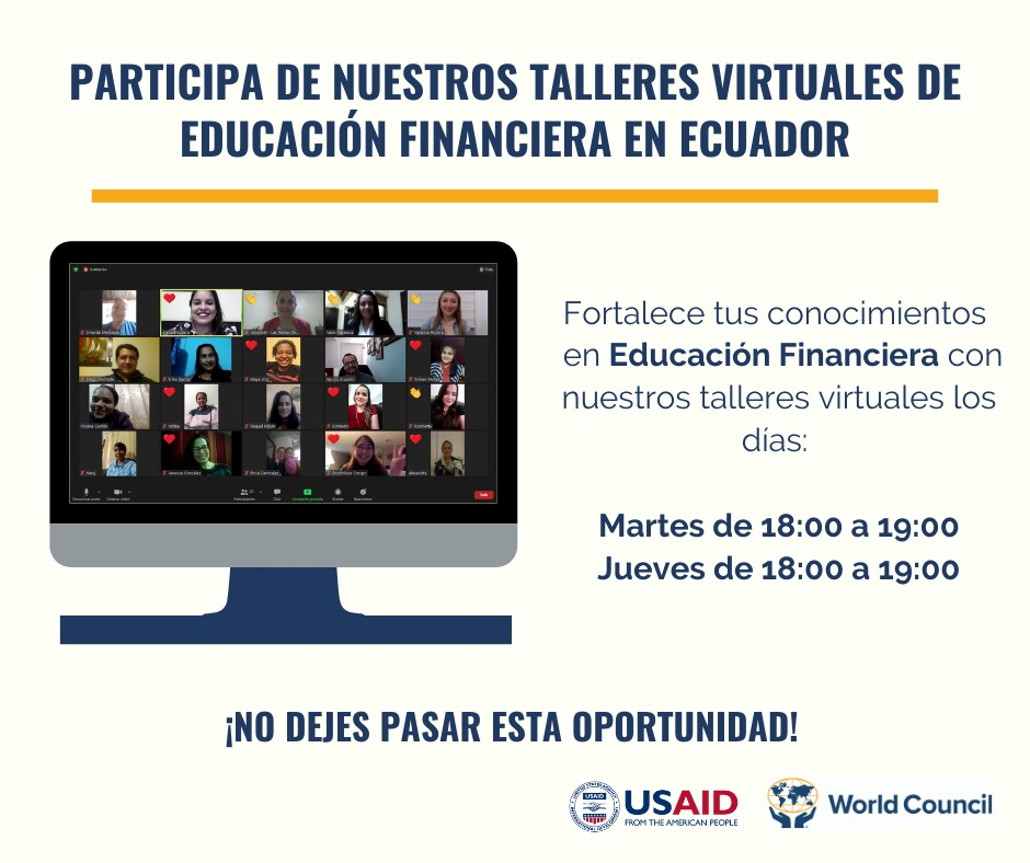 Taller Virtual de Educación Financiera